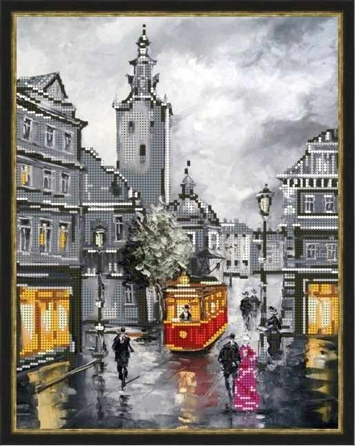 Б-3225 - Очарованье города - схема (Алёшкина любовь)