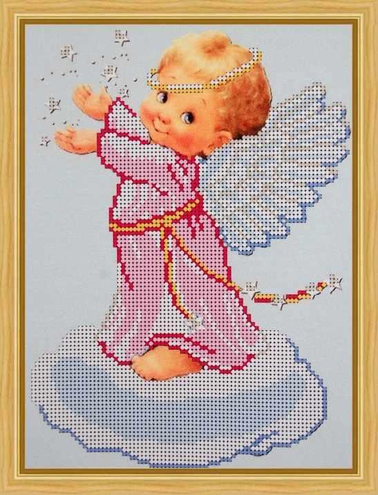 Б-4144 - Ангелок на облачке - схема (Алёшкина любовь)