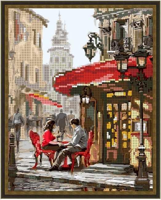 Б-4226 - Лондонское кафе - схема (Алёшкина любовь)