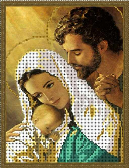 Б-4243 - Святое Семейство-2 - схема (Алёшкина любовь)
