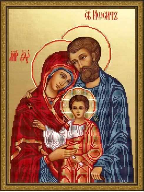 Б-4259 - Святое Семейство-3 - схема (Алёшкина любовь)