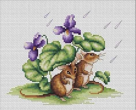 B1041 Мышки (Luca-S)