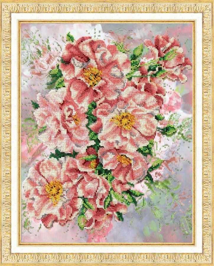 Б1205 Садовые розы (Паутинка)