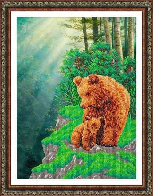 Б1459 Медвежья семейка (Паутинка)