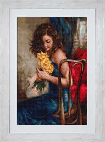 B532 Желтые розы (Luca-S)