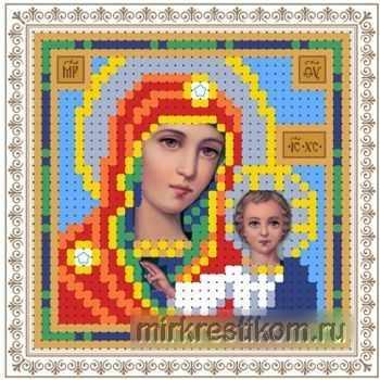 ББ047 мини Образ Казанской Богоматери