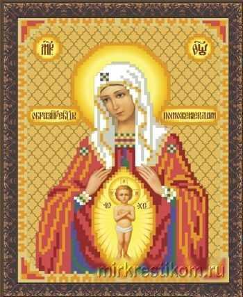 ББ321 Образ Пр.Богородицы В родах помощница