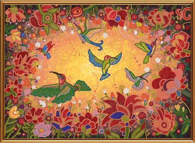 Бис 1298 Райские птицы