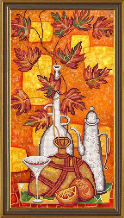 Бис 6158 Апельсиновый ликер (рисунок на ткани)