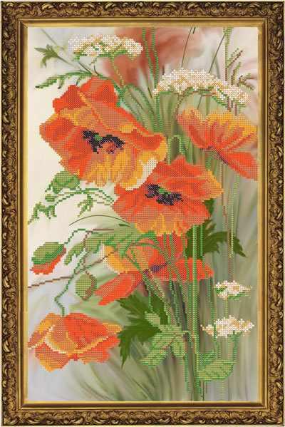 Бис 3149 Акварель (рисунок на ткани)