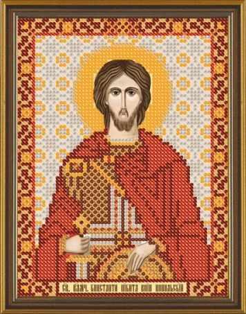 Бис 5175 Св. Вмч. Никита (рисунок на ткани)