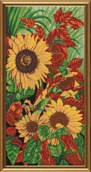 Бис 6218 Золотая осень (рисунок на ткани)