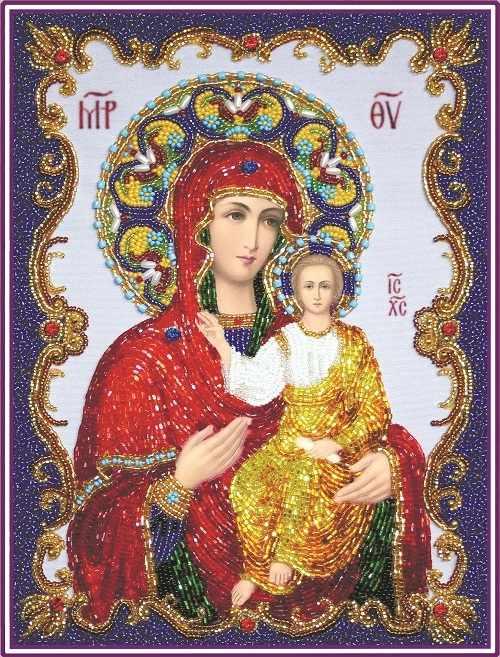 """БП135 Богородица """"Смоленская"""" (Из. Рук.)"""