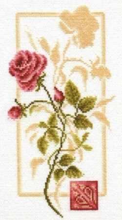БР-005 Отражение розы. Блеск росы