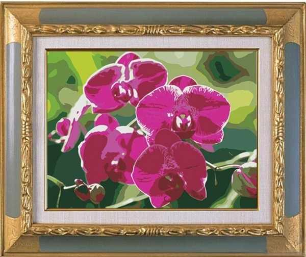 CK064 Ветка орхидеи