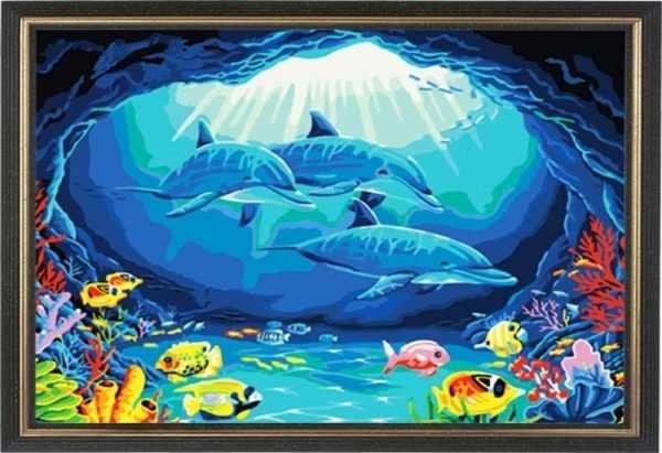 CK173 Дельфины