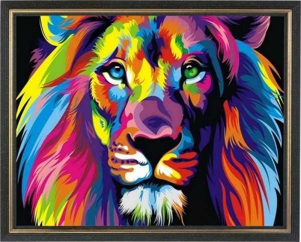 CKC012 Радужный лев