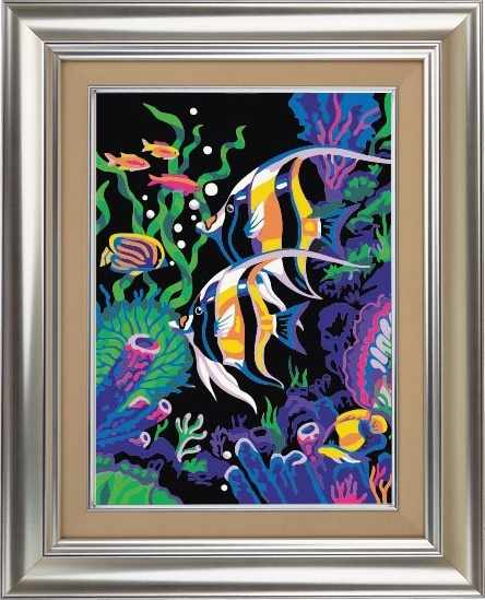 CKC021 Цветные рыбки