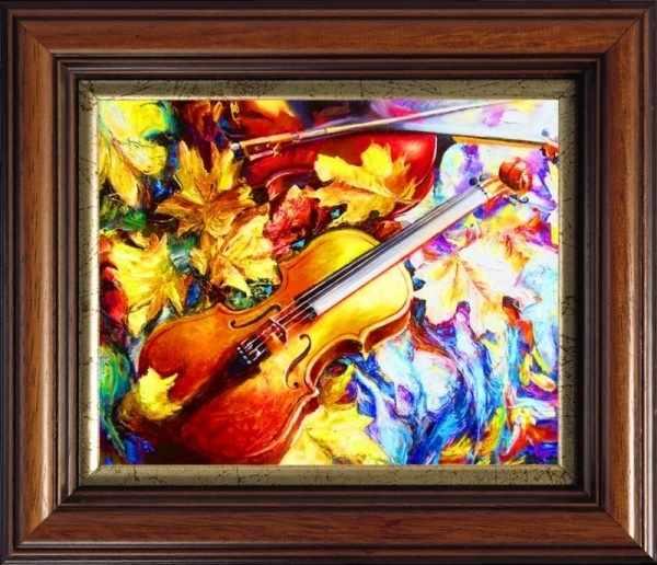 CKC022 Осенняя скрипка