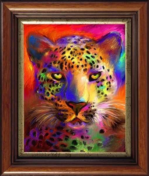 CKC039 Цветной гепард