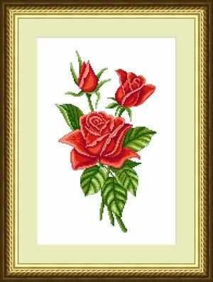 ЦВ-007 (Букет красных роз)