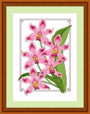 ЦВ-018 (Дикая орхидея)