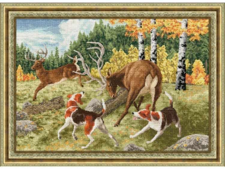 ДЖ-031 Охота на оленя. Дикие животные