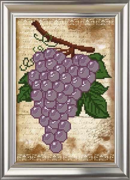 ДС-563 Виноград. Винтаж - схема (Велисса)