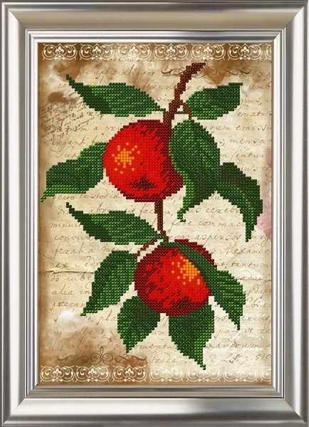 ДС-564 Яблочки. Винтаж - схема (Велисса)