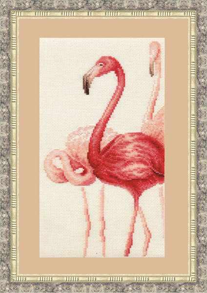 Ф-004 Фламинго. Набор № 3.Фламинго