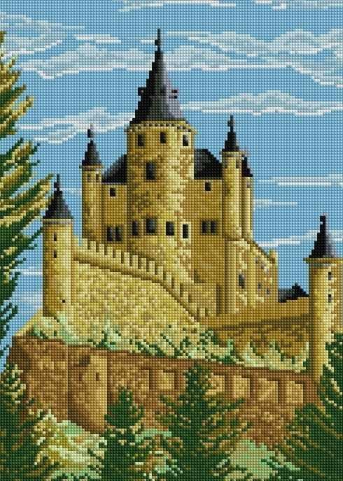 F006 - мозаика Anya
