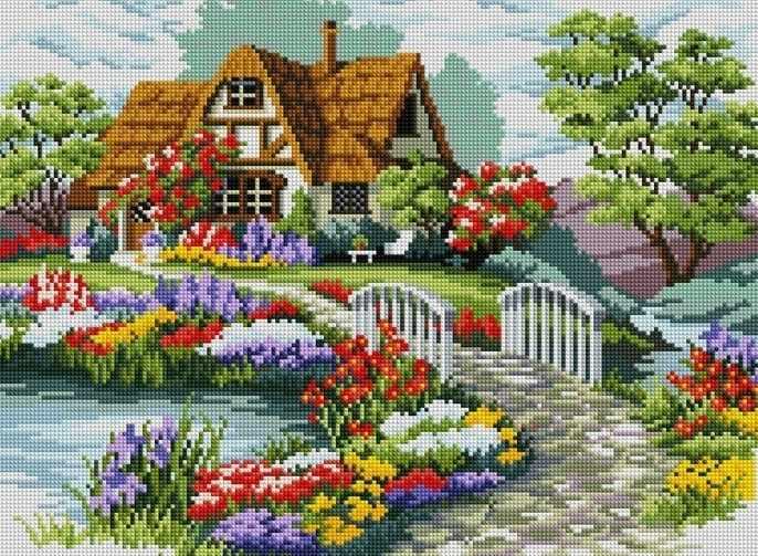 F012 - мозаика Anya