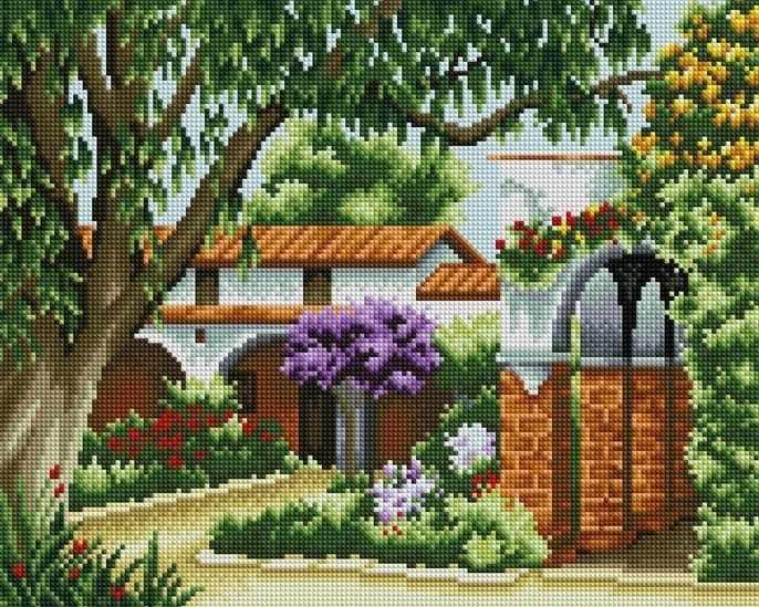 F015 - мозаика Anya
