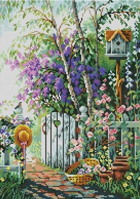 F017 - мозаика Anya