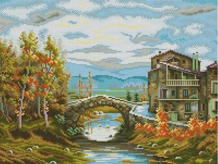 F034 - мозаика Anya