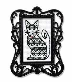 FA023 Графический кот-1