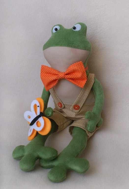 FR001 Frogs story набор для изготовления игрушки