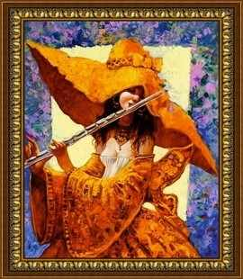 G-049 Флейтистка