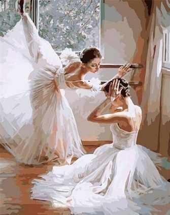 G399 Две балерины