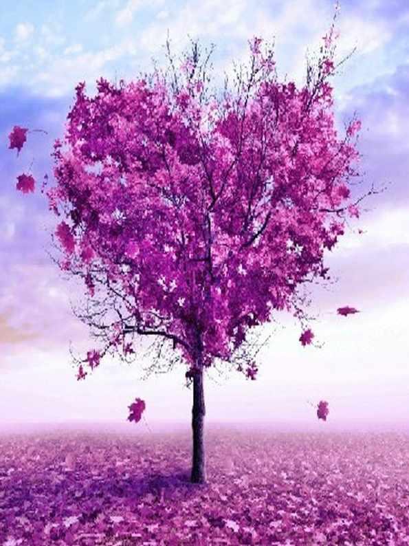 GХ7460 Дерево-сердце