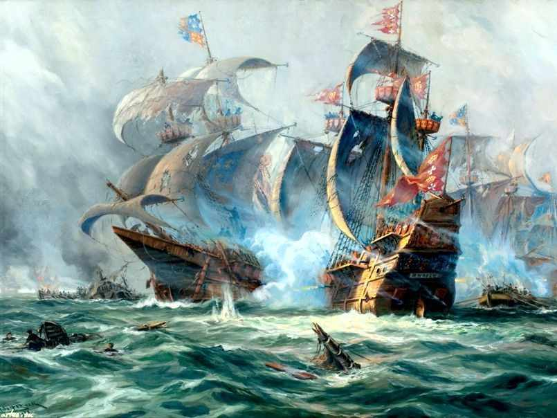 GХ7789 Морское сражение