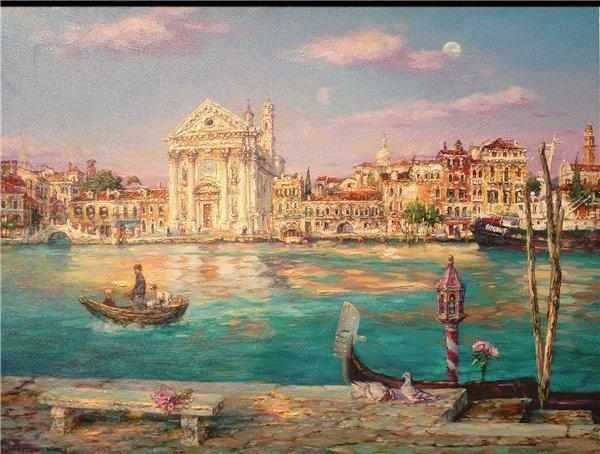 GX7898 Бирюзовая река в Венеции