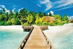 GХ8114 Мост на тропический остров