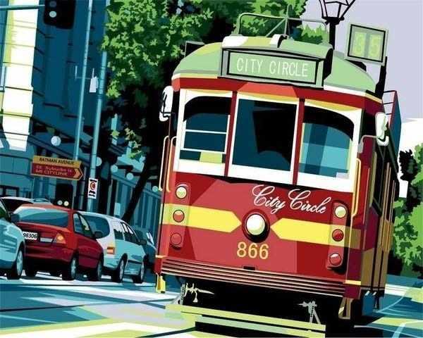 """GX6030 """"Красный трамвай"""""""