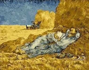 """GX6397 """"Полуденный отдых"""" Ван Гог"""