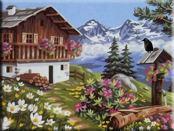 """GX6711 """"Домик в горах"""""""