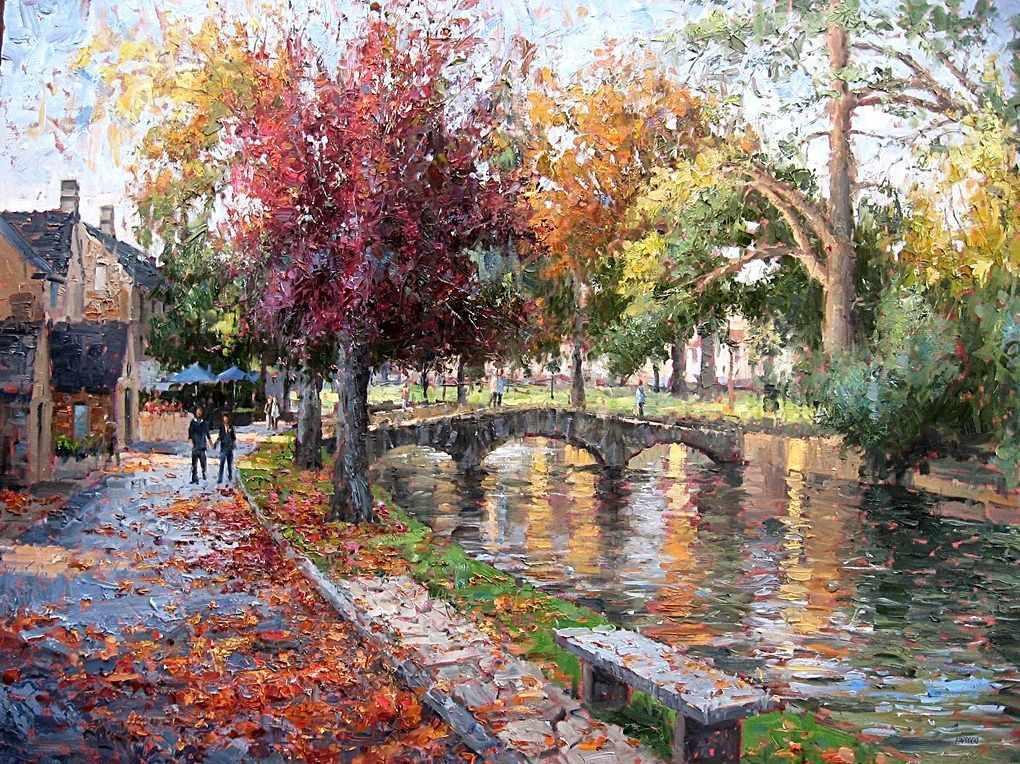 GX7323 Осенний парк