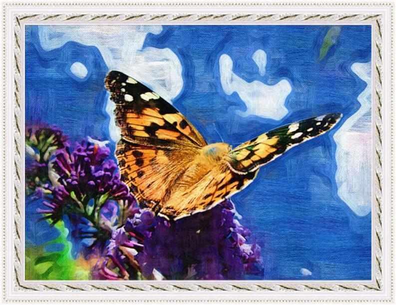 H-248 Бабочка - мозаика Милато