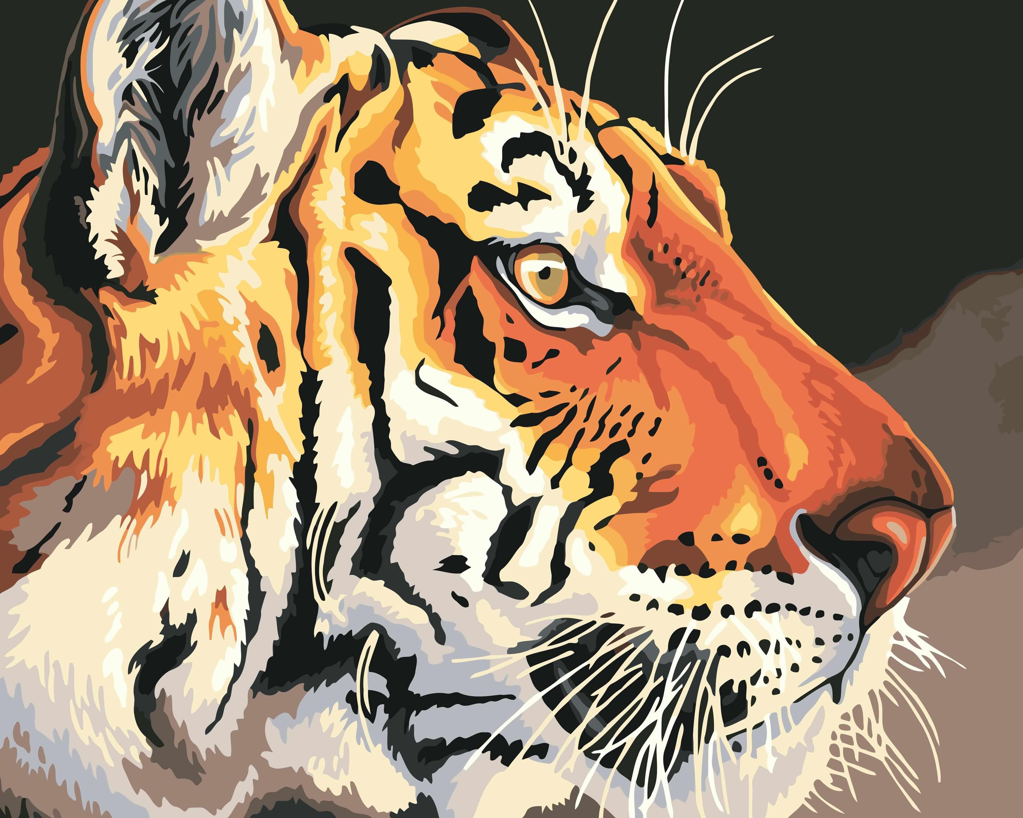 H013 Тигр