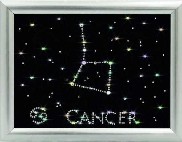 """ХК-007 Созвездие """"Рак"""".Хрустальная коллекция"""